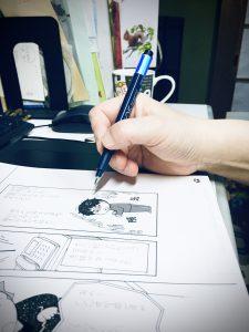 漫画家、手